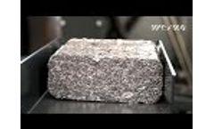 WEIMA Aluminum Brikettierpresse TH 1500 AL Video