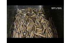 WEIMA WL 8 AL Shredder + HD 1500 AL Brikettpresse Video