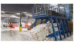 Industrial shredders system for Paper and cardboard shredding inddustry