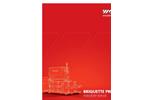 Model TH 1500/TH 2800/TH 3400 - Briquette Press Brochure