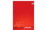 Model WL 10 - Single-Shaft Shredder - Brochure