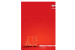 C-Series Briquetting Presses Datasheet