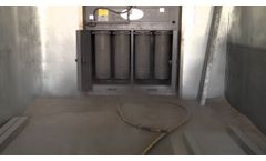 UAS MCB Cross Ventilation Dust Collector - Video
