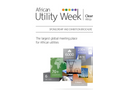 16th Annual African Utility Week and Clean Power Africa 2016 - Brochure