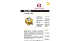 S4100T Hydrogen Sulphide Gas Detector Data Sheet