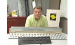 Smith/ACO Polymer Trench Drain Series Demonstration from Jay R. Smith Mfg. Co. Video