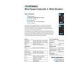 WindDisplay - Wind Speed Indicator Datasheet