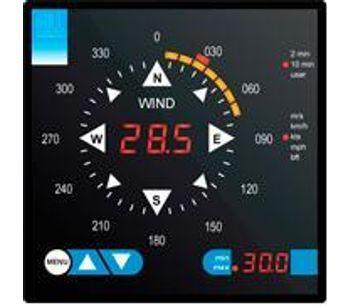 WindDisplay - Wind Speed Indicator