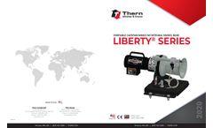 Thern Liberty Series - Portable Capstan Winch W/ Swivel Base - Datasheet