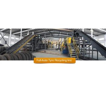 Shredding technology for rubber tire recycling sector - Waste and Recycling