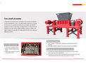 Double Shaft Shredder - Brochure