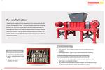 Double Shaft Shredder - Brochure