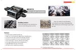 Four Shaft Shredder - Brochure