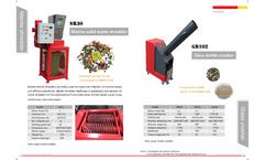 Glass Crusher/Bottle Grinder - Brochure