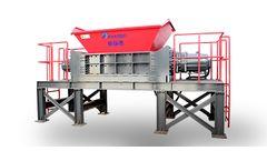 HARDEN - Model TD912 - Industrial Waste Shredder
