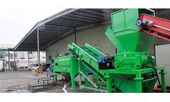 HARDEN - Model TS612 - Organic Waste Shredder