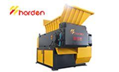 HARDEN - Model SM2000 - Plastic Film Shredder