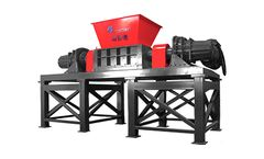 HARDEN - Model TL1013 - Double-Rotor Shredder