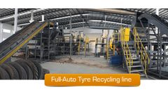HARDEN - Model TD912 - Rubber Tire Recycling
