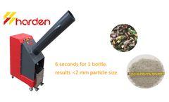 HARDEN - Model GB102 - Glass Crusher and Bottle Crusher