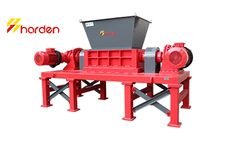 HARDEN - Model TD612 - Double shaft shredder for sale