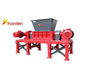 HARDEN - Model TD612 - Double shaft shredder for sale