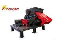 HARDEN - Model SMA1300 - High quality single shaft shredder
