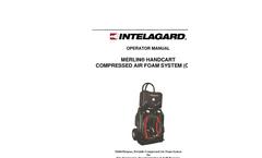 Merlin - Model Handcart - Compressed Air Foam System (CAFS) - Brochure