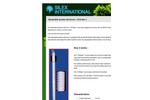 Oil Eater Disposable Passive Skimmer  Brochure