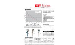 EF Series - EF Series Technical Flyer Brochure