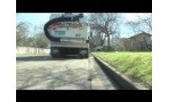 TYMCO Model 600 Regenerative Air Street Sweeper Video