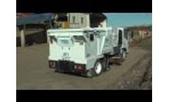 TYMCO Model DST-4 Mid-Sized Dustless Regenerative Air Street Sweeper Video