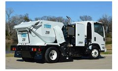 Tymco - Model 210 - Parking Lot Sweeper