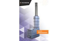 Inciner8 - Model I8-M120 - Medical Waste Incinerator - Brochure