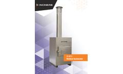 Inciner8 - Model I8-M15 - Medical Waste Incinerator - Brochure