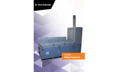 Inciner8 - Model I8-M250 - Medical Waste Incinerator - Brochure