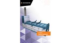 Inciner8 - Model I8-M700 - Medical Waste Incinerator - Brochure