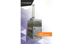 Inciner8 - Model I8-M80 - Medical Waste Incinerator - Brochure