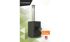 Inciner8 - Model i8-PC1 - Small Pet Cremator - Brochure