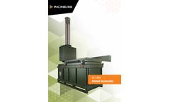 Inciner8 - Model I8-140A - Animal Incinerator - Brochure