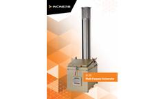 Inciner8 - Model i8-20B - Multi Purpose Incinerator - Brochure