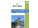 POLYESTER GEOTEXTİLES TECHNICAL DATA SHEETS