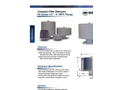 Compact Filter Silencers - FS Series 1/2 - 6 MPT, Flange Datasheet