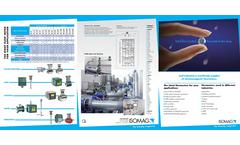 ISOMAG - ML4F1 - Electromagnetic Flow Meter Converter, With Batch Function – Brochure
