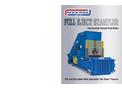 MAX-PAK - Full Eject Stampler Horizontal Balers - Brochure