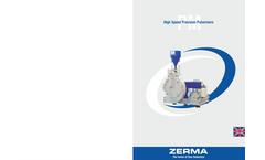 ZERMA - Model Serie PM 300 / 500 / 800 - High Speed Precision Pulverizers - Brochure