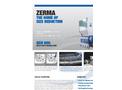 ZERMA - Model GSH 350/500 - 800/1600 - Heavy Duty Granulator- Brochure