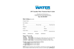 Canadian Water Treatment Listing Form