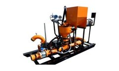 MetaFLO - Model LMS 6 - Liquid Waste Slurry Solidification System