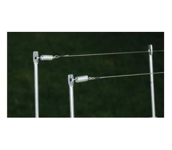 Post & Wire Bird Control System